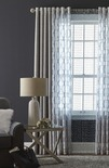 "JCPenney Home Presley 50x84"" Metallic Blackou Curtain"