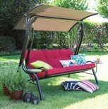 Outdoor Oasis Melbourne 3-Seater Patio Swing