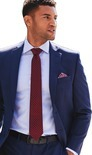 Men's Collection by Michael Strahan Classic Fit Suit Jacket & Pants