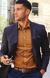 Collection by Michael Strahan Plaid Classic Fit Sport Coat